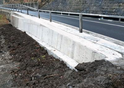 Stützmauer A8 Brünigstrasse