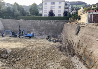 Baugrubensicherung