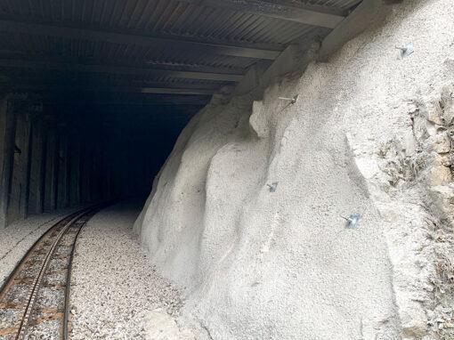 Tunnelsanierungen Brienz Rothorn Bahn