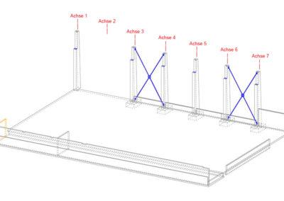 3D-Ansicht des Massivbaus