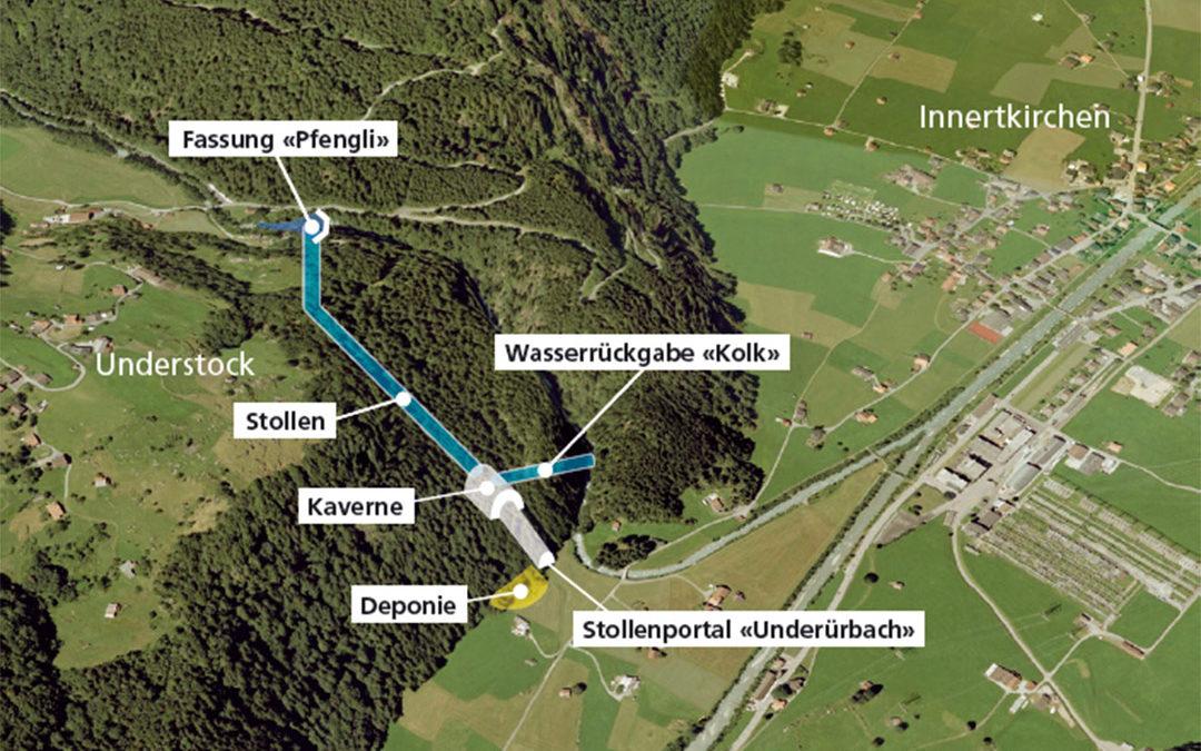 Kraftwerk Grund Druckleitung