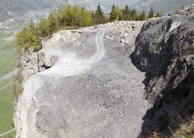 Baugrund zur Erstellung der Bergstation