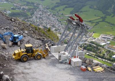 Materialseilbahn Mollis