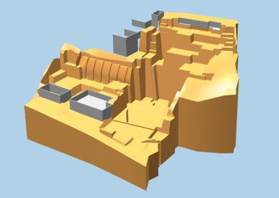 Geländemodell 3D